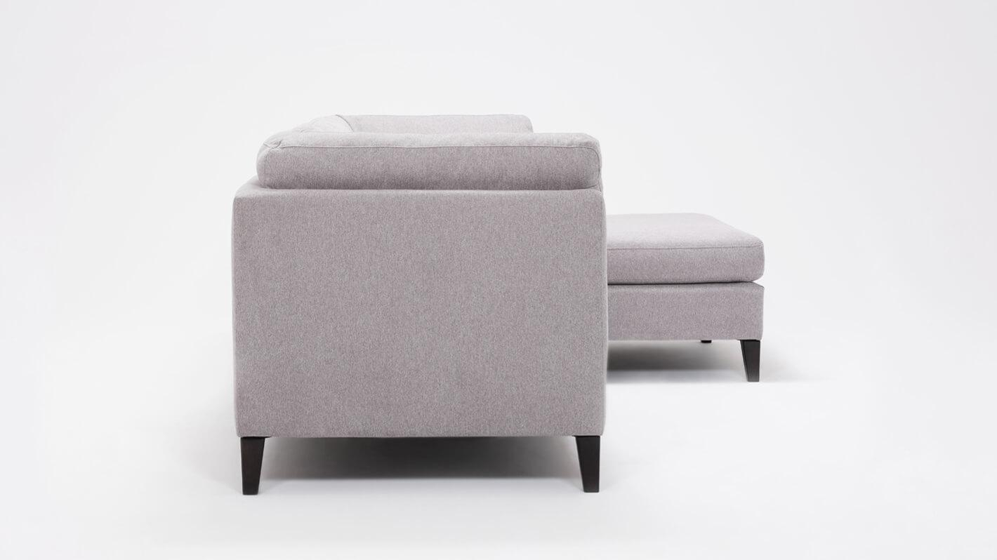 Salema 2 Piece Sectional Sofa With Chaise Fabric Eq3